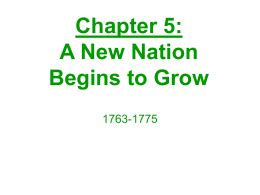 Two sentence thesis on the causes of the american revolution